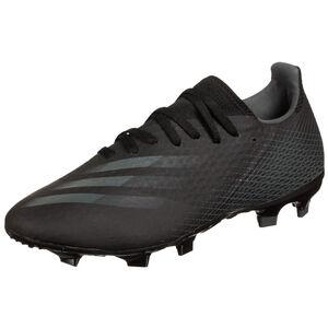 X Ghosted.3 FG Fußballschuh Herren, schwarz / grau, zoom bei OUTFITTER Online