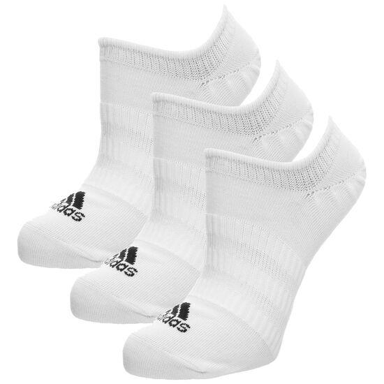 Light No-Show Socken 3er Pack, weiß / schwarz, zoom bei OUTFITTER Online