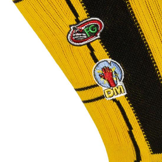 KB Bride Jacket Socken Herren, gelb / schwarz, zoom bei OUTFITTER Online