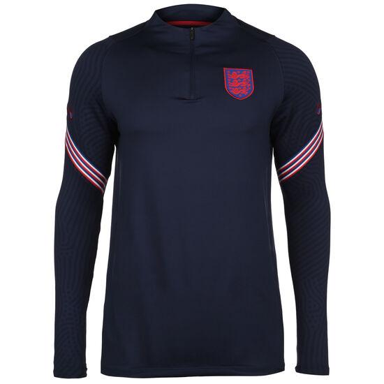 England Dry Strike Drill Sweatshirt EM 2021 Herren, dunkelblau / rot, zoom bei OUTFITTER Online