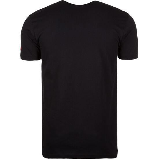 NBA Chicago Bulls Logo T-Shirt Herren, Schwarz, zoom bei OUTFITTER Online