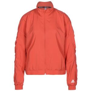 Badge Of Sports Woven Trainingsjacke Damen, rot / weiß, zoom bei OUTFITTER Online