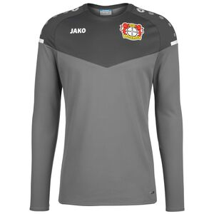 Bayer 04 Leverkusen Champ 2.0 International Sweatshirt Herren, grau / anthrazit, zoom bei OUTFITTER Online