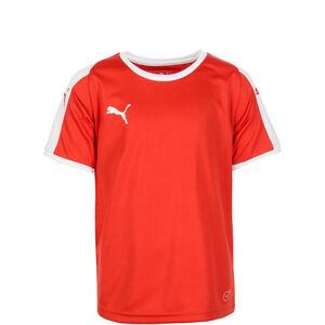 Liga Fußballtrikot Kinder, rot / weiß, zoom bei OUTFITTER Online