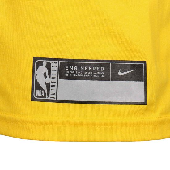 Los Angeles Lakers Trainingsshirt Herren, gelb / lila, zoom bei OUTFITTER Online