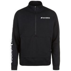 Sport Style Optiks 1/4 Zip Sweatshirt Herren, schwarz / weiß, zoom bei OUTFITTER Online