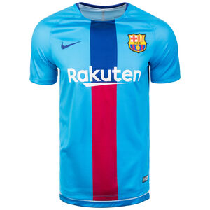 FC Barcelona Dri-FIT Squad Trainingsshirt Herren, blau / rot, zoom bei OUTFITTER Online