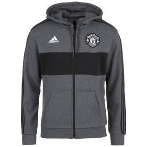 Manchester United Kapuzenjacke Herren, dunkelgrau / schwarz, zoom bei OUTFITTER Online