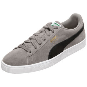 Suede Classic Sneaker, grau / schwarz, zoom bei OUTFITTER Online
