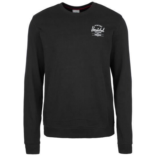 Crewneck Sweatshirt Herren, schwarz / weiß, zoom bei OUTFITTER Online