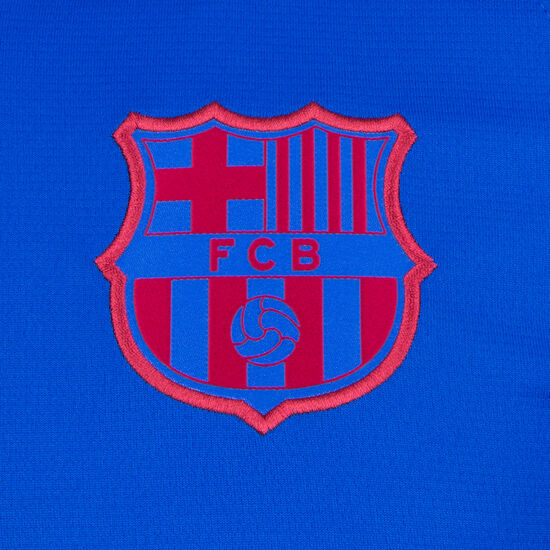 FC Barcelona Breathe Strike Trainingsshirt Herren, blau / weiß, zoom bei OUTFITTER Online