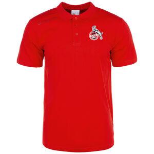 1. FC Köln Essential Poloshirt Herren, rot, zoom bei OUTFITTER Online