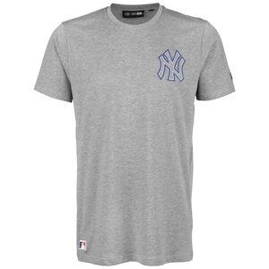 MLB New York Yankees Chain Stitch T-Shirt Herren, hellgrau, zoom bei OUTFITTER Online