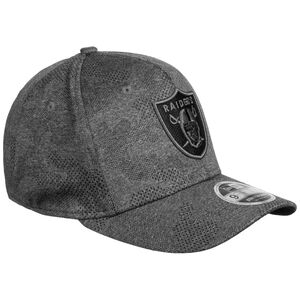 9FIFTY NFL Las Vegas Raiders Engineered Plus Stretch Snapback Cap, dunkelgrau / schwarz, zoom bei OUTFITTER Online