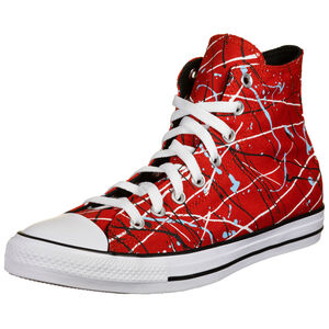 Chuck Taylor All Star Archive Paint Splatter Print Sneaker, rot / bunt, zoom bei OUTFITTER Online