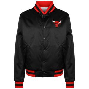 NBA Chicago Bulls Reversible Courtside Trainingsjacke Herren, schwarz / rot, zoom bei OUTFITTER Online