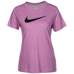 Crew Trainingsshirt Damen, violett / rosa, zoom bei OUTFITTER Online