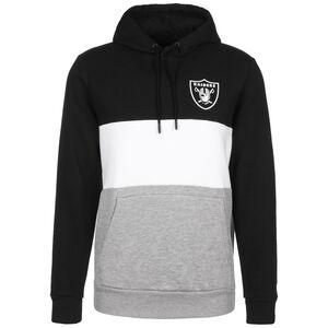 NFL Colour Block Oakland Raiders Kapuzenpullover Herren, schwarz, zoom bei OUTFITTER Online
