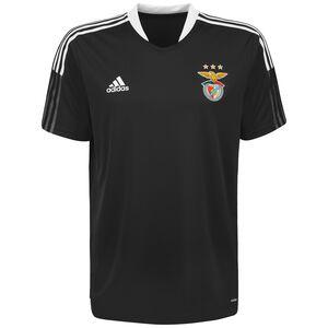 Benfica Lissabon Trainingsshirt Herren, schwarz / weiß, zoom bei OUTFITTER Online
