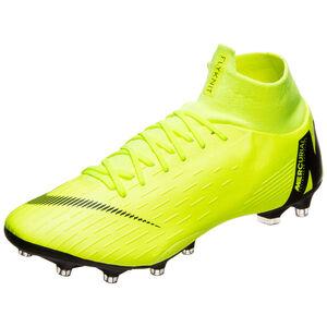 Mercurial Superfly VI Pro AG-Pro Fußballschuh Herren, gelb / schwarz, zoom bei OUTFITTER Online
