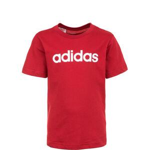 Essentials Linear Logo Trainingsshirt Kinder, dunkelrot, zoom bei OUTFITTER Online