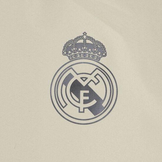 Real Madrid All Weather Jacke Herren, beige / schwarz, zoom bei OUTFITTER Online