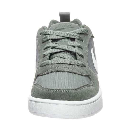 Court Borough Low Sneaker Kinder, grün / weiß, zoom bei OUTFITTER Online
