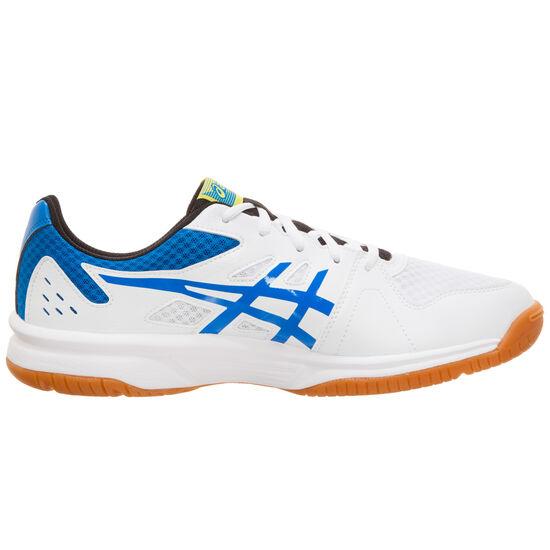 UPCOURT 3 Handballschuh Herren, weiß / blau, zoom bei OUTFITTER Online