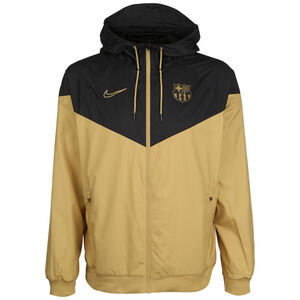 FC Barcelona Authentic Windrunner Herren, gold / schwarz, zoom bei OUTFITTER Online