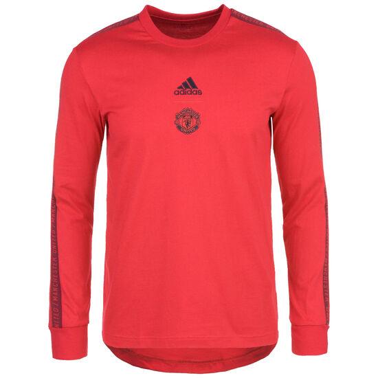 Manchester United Trainingssweatshirt Herren, rot, zoom bei OUTFITTER Online