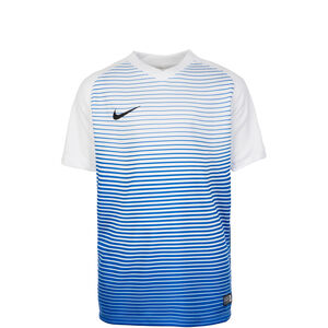 Dry Precision Trainingsshirt Kinder, weiß / blau, zoom bei OUTFITTER Online