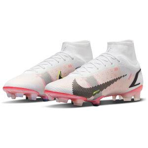 Mercurial Superfly 8 Elite DF FG Fußballschuh Herren, weiß / rosa, zoom bei OUTFITTER Online