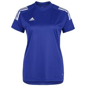 Condivo 20 Trainingsshirt Damen, blau / weiß, zoom bei OUTFITTER Online