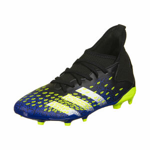 Predator Freak .3 FG Fußballschuh Kinder, schwarz / blau, zoom bei OUTFITTER Online