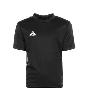Core 18 Trainingsshirt Kinder, schwarz / weiß, zoom bei OUTFITTER Online