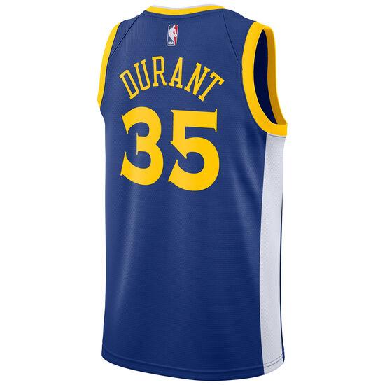 NBA Golden State Warriors #35 Durant Basketballtrikot Herren, blau / gelb, zoom bei OUTFITTER Online