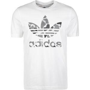 Camo Trefoil T-Shirt Herren, weiß, zoom bei OUTFITTER Online