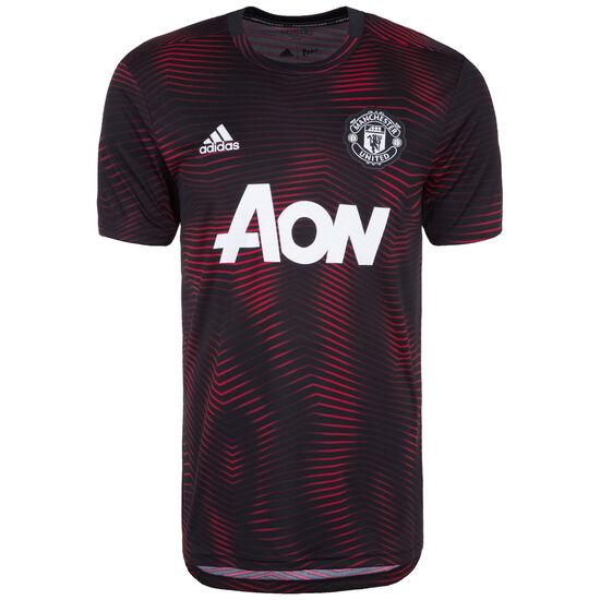 Manchester United Pre-Match T-Shirt Herren, schwarz / rot, zoom bei OUTFITTER Online