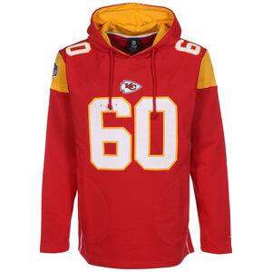 NFL Kansas City Chiefs Iconic Franchise Kapuzenpullover Herren, rot / orange, zoom bei OUTFITTER Online
