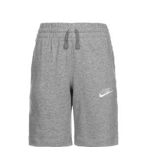 Jersey Short Kinder, dunkelgrau / weiß, zoom bei OUTFITTER Online