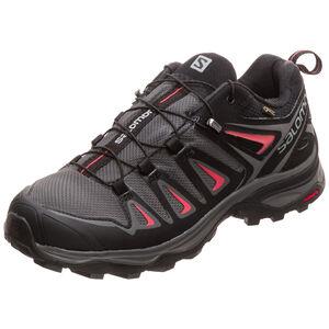 X Ultra 3 GTX Trail Laufschuh Damen, grau / rot, zoom bei OUTFITTER Online
