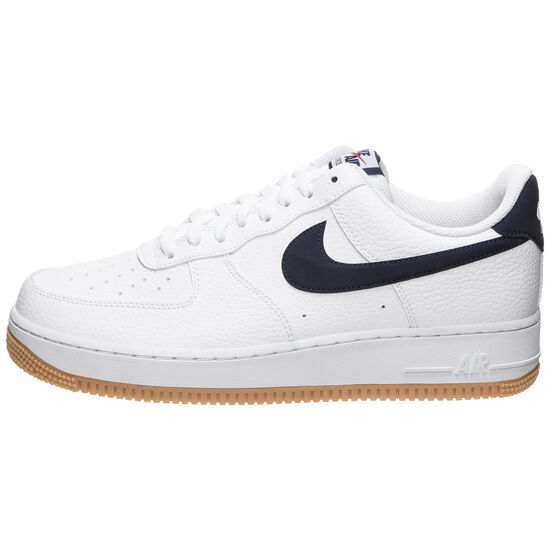 Air Force 1 '07 2 Sneaker Herren, weiß / blau, zoom bei OUTFITTER Online
