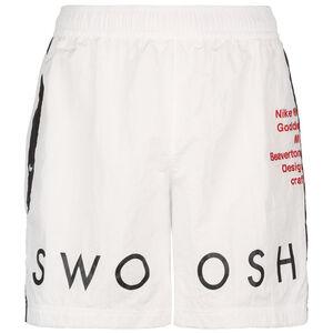 Sportswear Swoosh Shorts Herren, weiß, zoom bei OUTFITTER Online