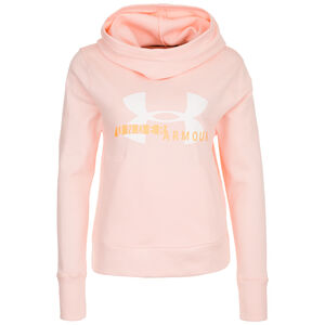 Sportstyle Logo Kapuzenpullover Damen, apricot, zoom bei OUTFITTER Online
