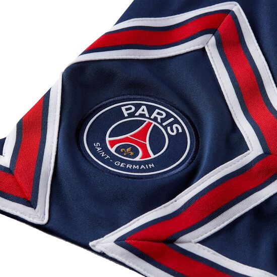 Paris St.-Germain Shorts Home Stadium 2021/2022 Herren, dunkelblau / rot, zoom bei OUTFITTER Online