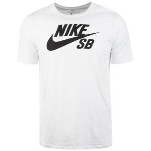 Dry Logo T-Shirt Herren, weiß / schwarz, zoom bei OUTFITTER Online