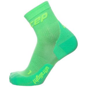 Ultralight Short Socks Kompressionssocken Damen, Grün, zoom bei OUTFITTER Online