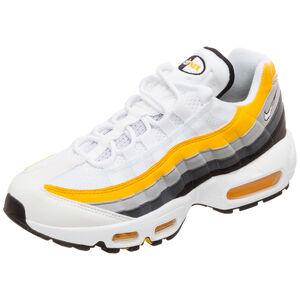 Air Max 95 Sneaker Damen, weiß / gelb, zoom bei OUTFITTER Online