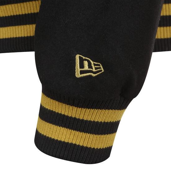Heritage Varsity Jacke Herren, schwarz / dunkelgelb, zoom bei OUTFITTER Online