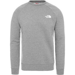 Raglan Red Box Crew Sweatshirt Herren, grau / oliv, zoom bei OUTFITTER Online